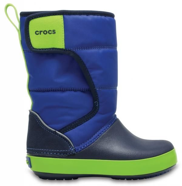szybka dostawa nowe obrazy najlepsze trampki Crocs śniegowce KIDS LodgePoint Snow Boot 204660-4HD KIDS LodgePoint Snow  Boot